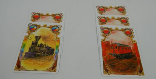 Beat Other Player for Color in Ticket to Ride The Card Game