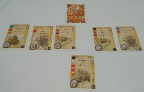 Most Destination Tickets for City in Ticket to Ride The Card Game