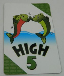 High 5 Card in Happy Salmon