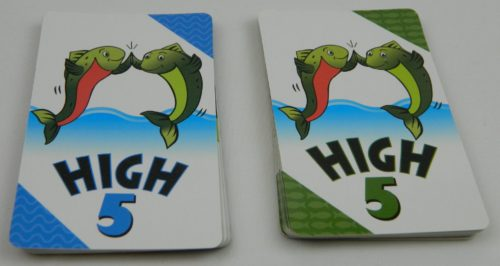 Matching Cards in Happy Salmon