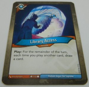 Action Card in KeyForge
