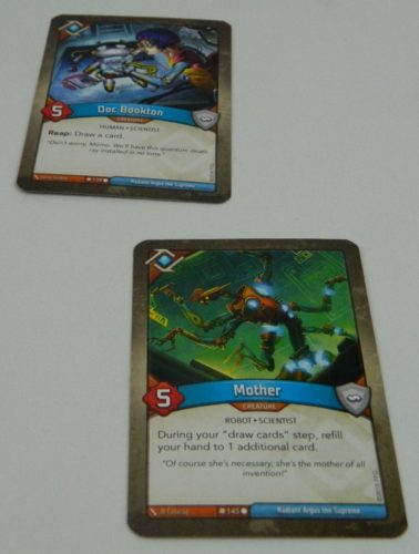 Place Creature Card in KeyForge