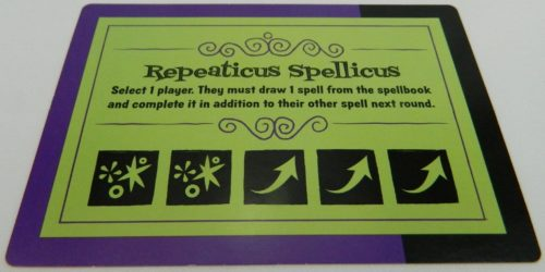 Spell Card with Special Action in Ta-Da!