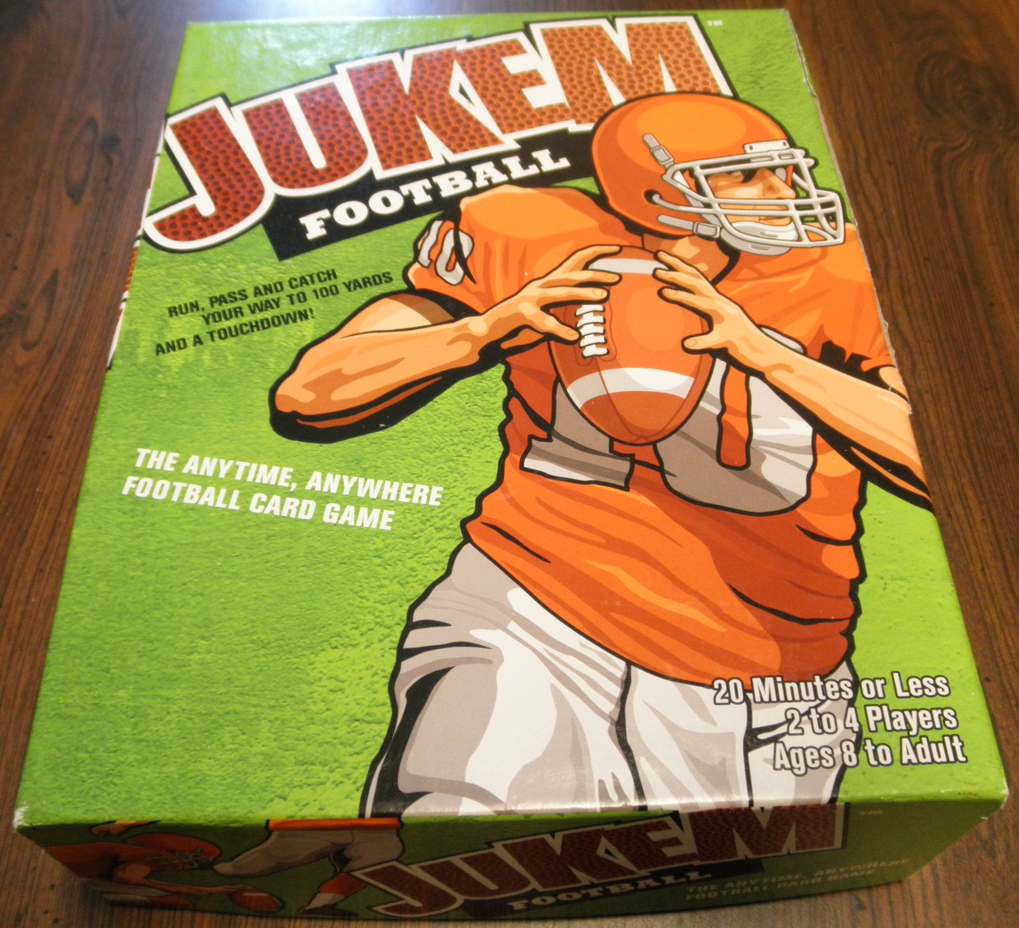 Jukem Football Card Game Box