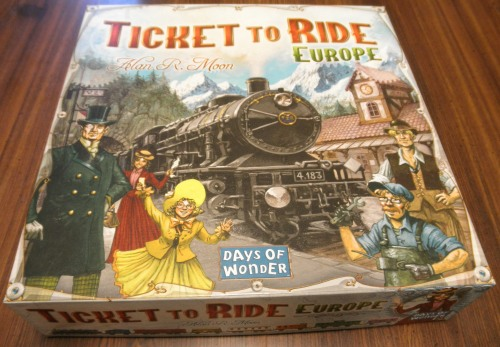 ticket to ride europe board game review geeky hobbies. Black Bedroom Furniture Sets. Home Design Ideas