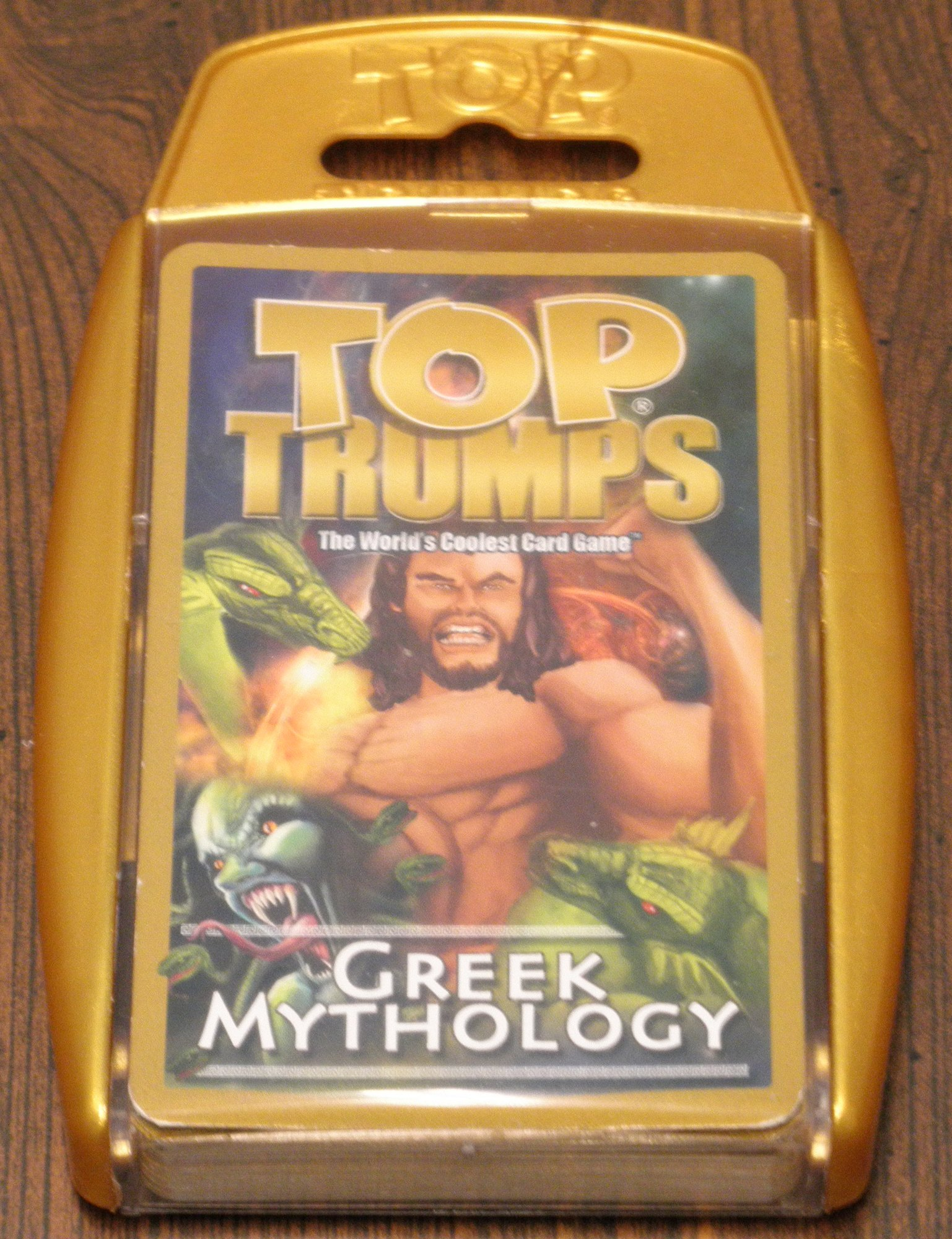 Top Trumps Greek Mythology Box