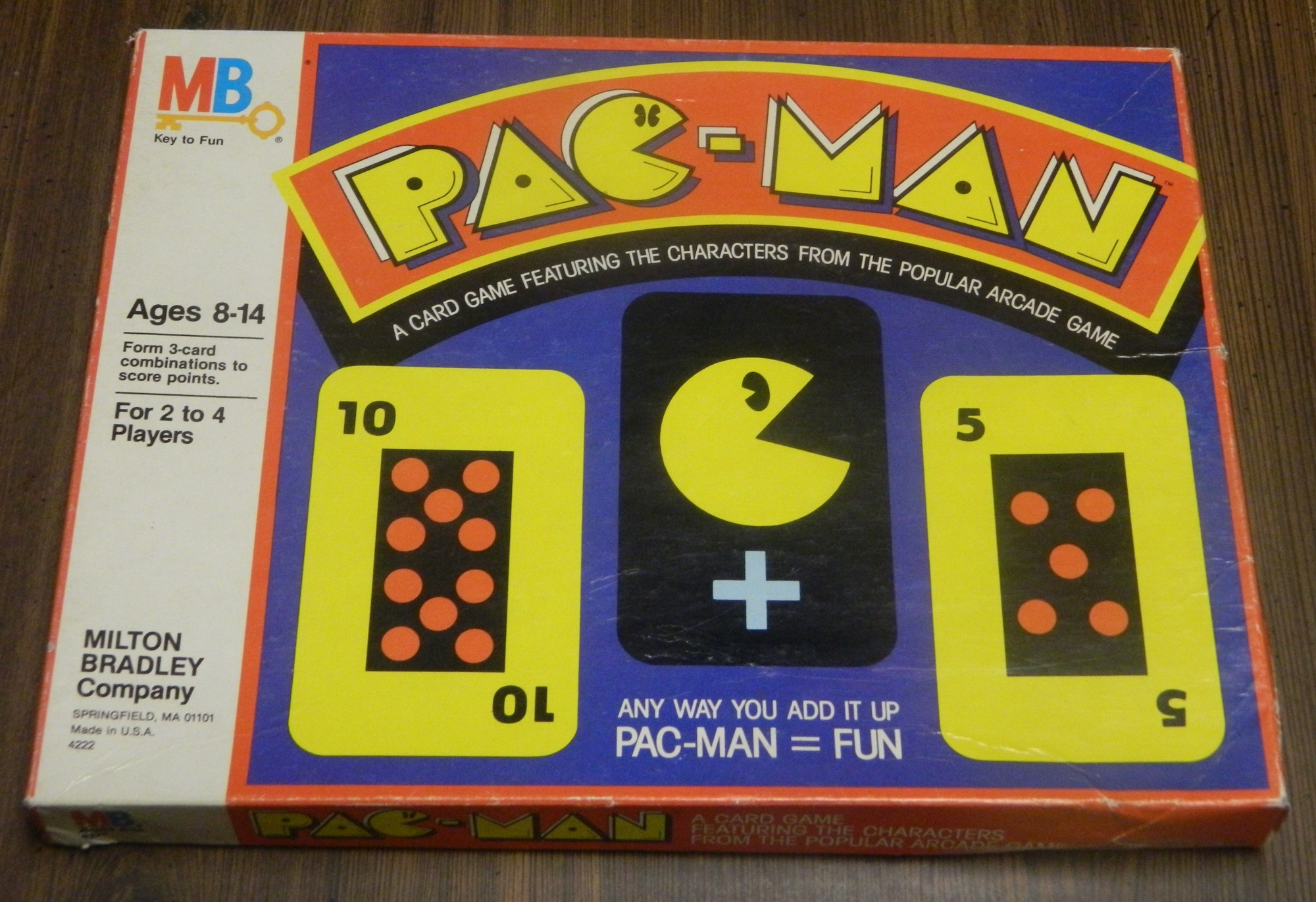 Pac-Man Card Game Box