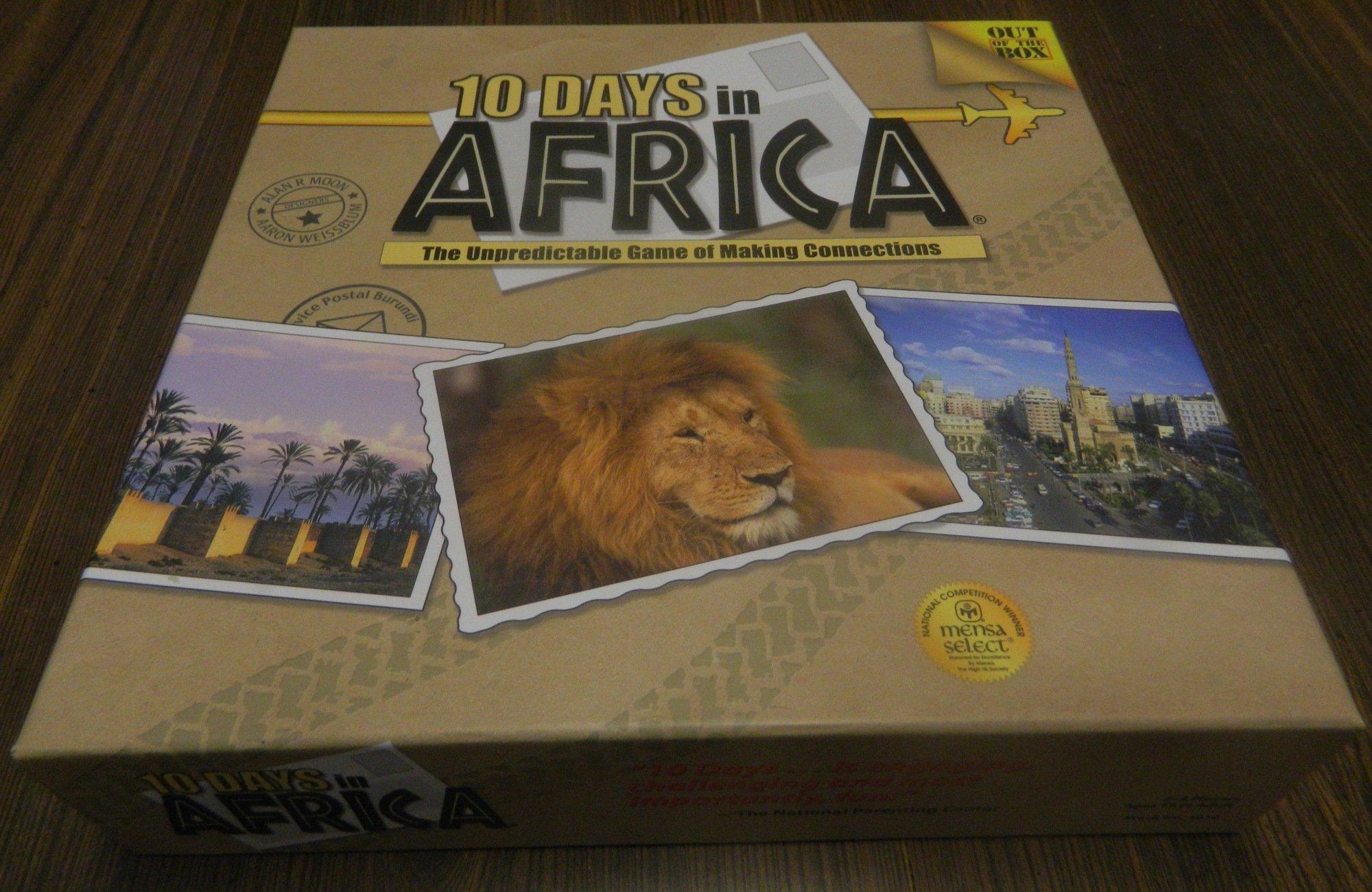 10 Days in Africa Box