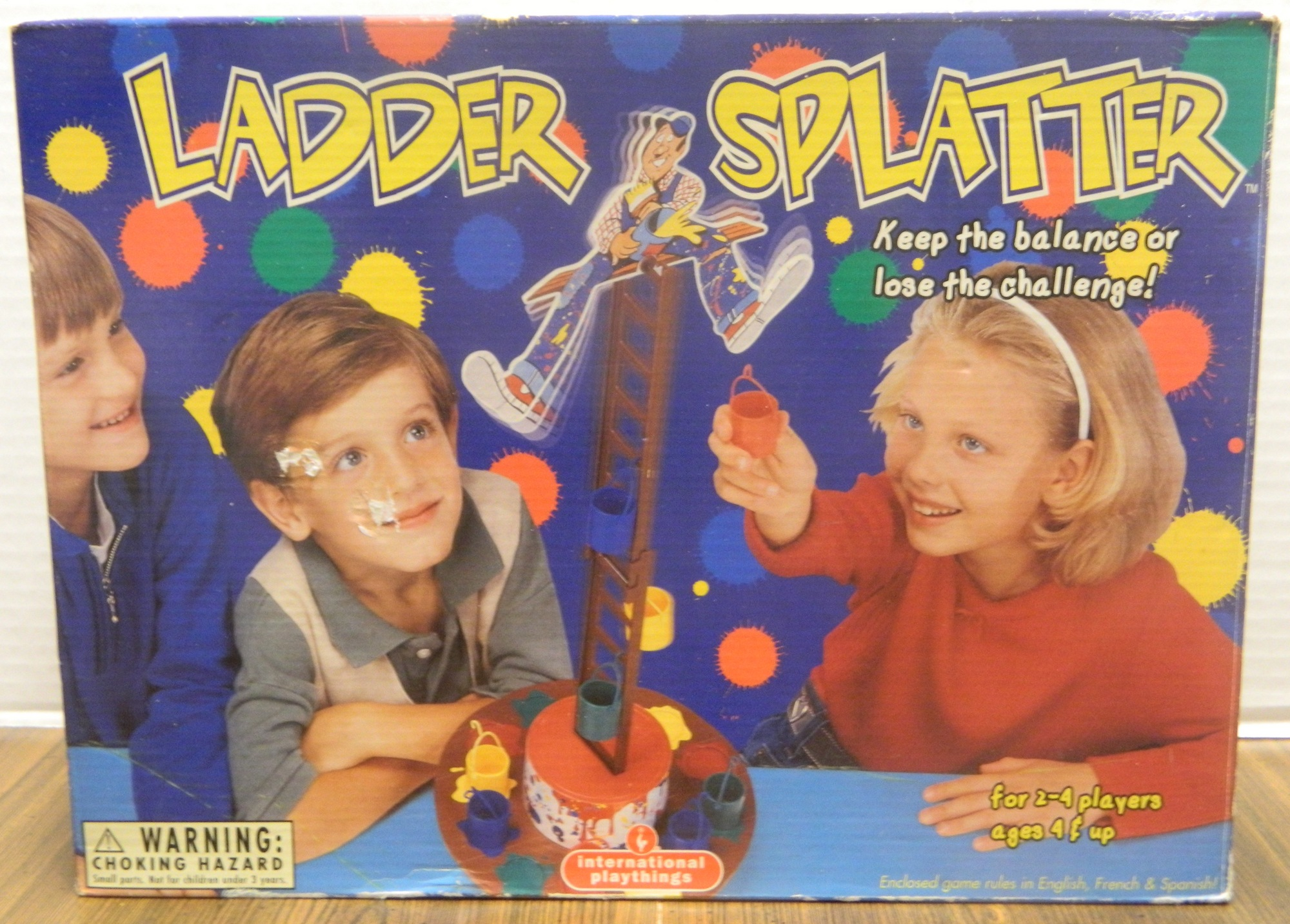 Ladder Splatter Box