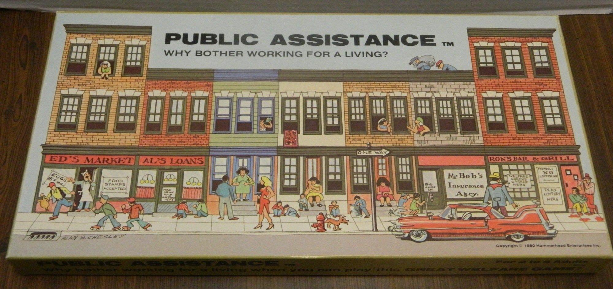 Public Assistance Box