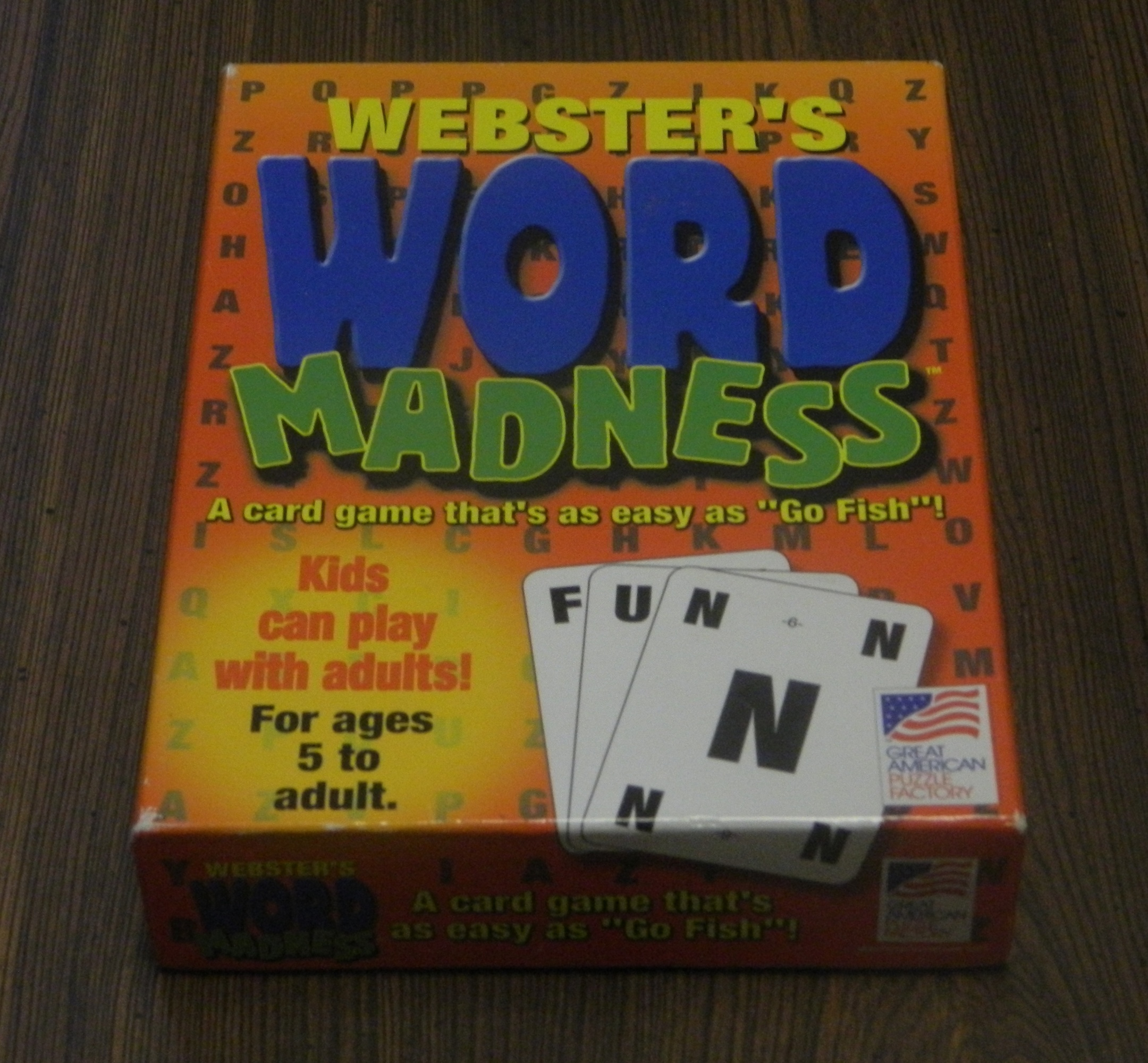 Word Madness Box