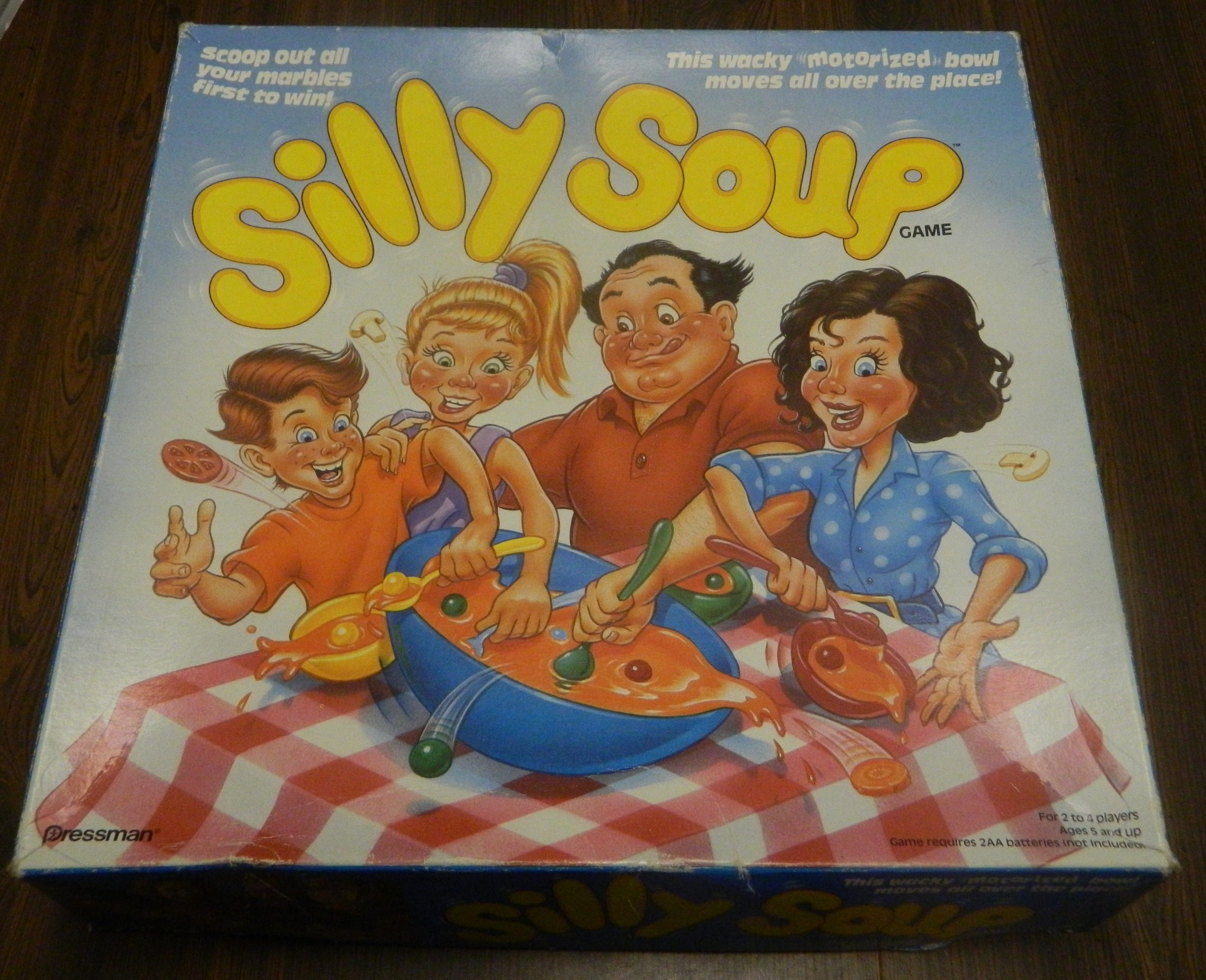Silly Soup Board Game Box