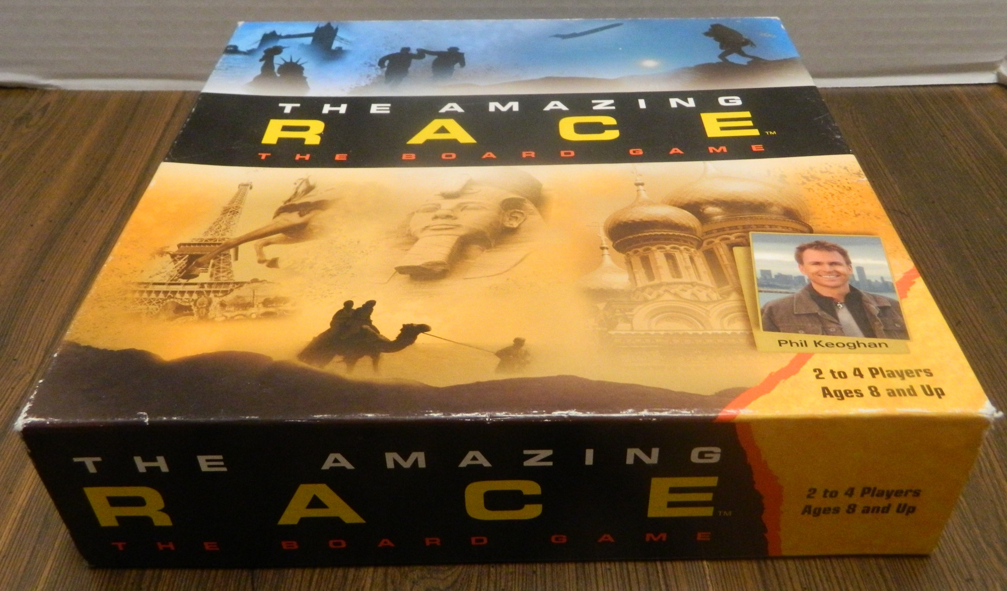 Amazing Race Board Game Box