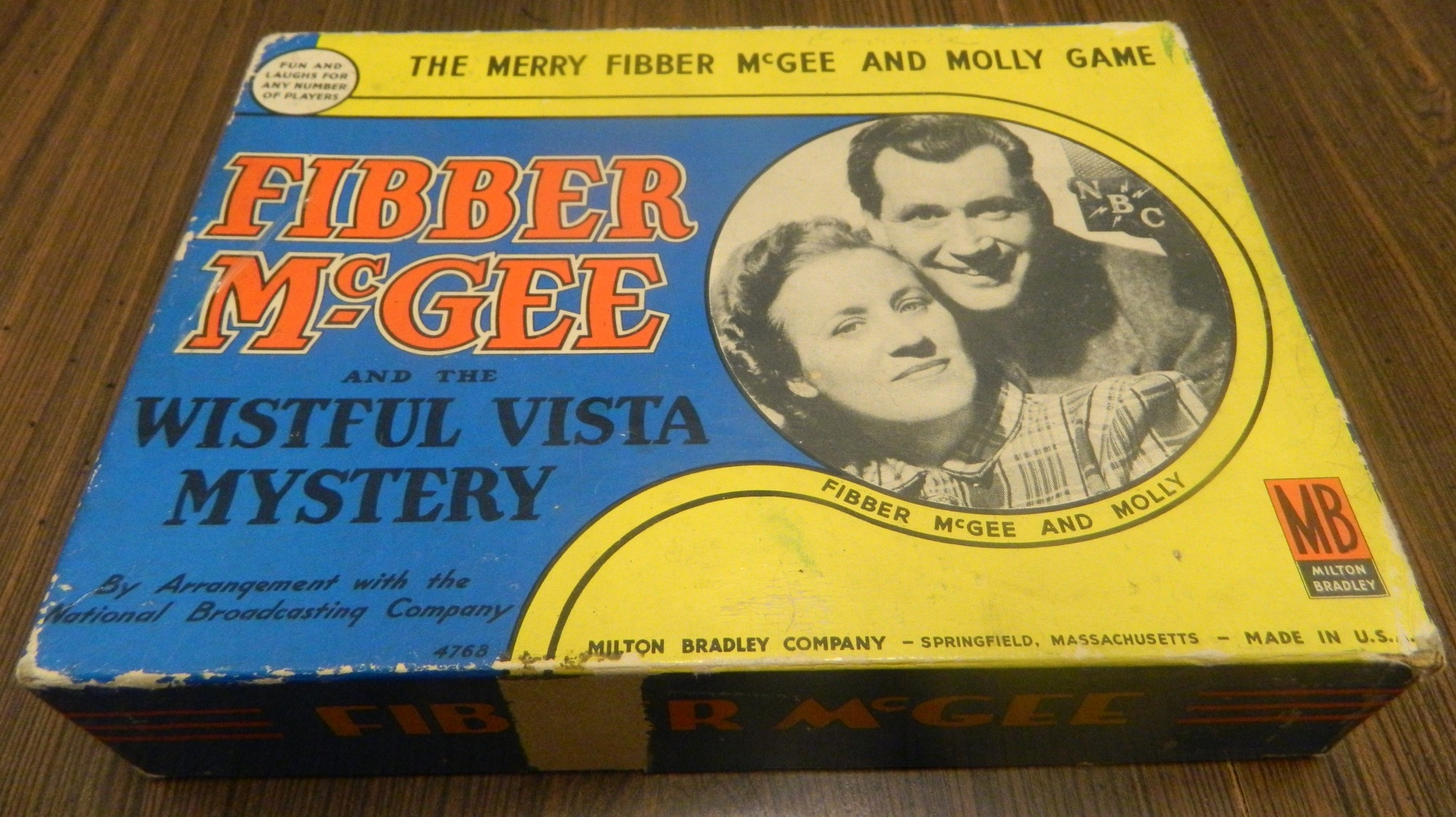Fibber McGee and the Wistful Vista Mystery Box