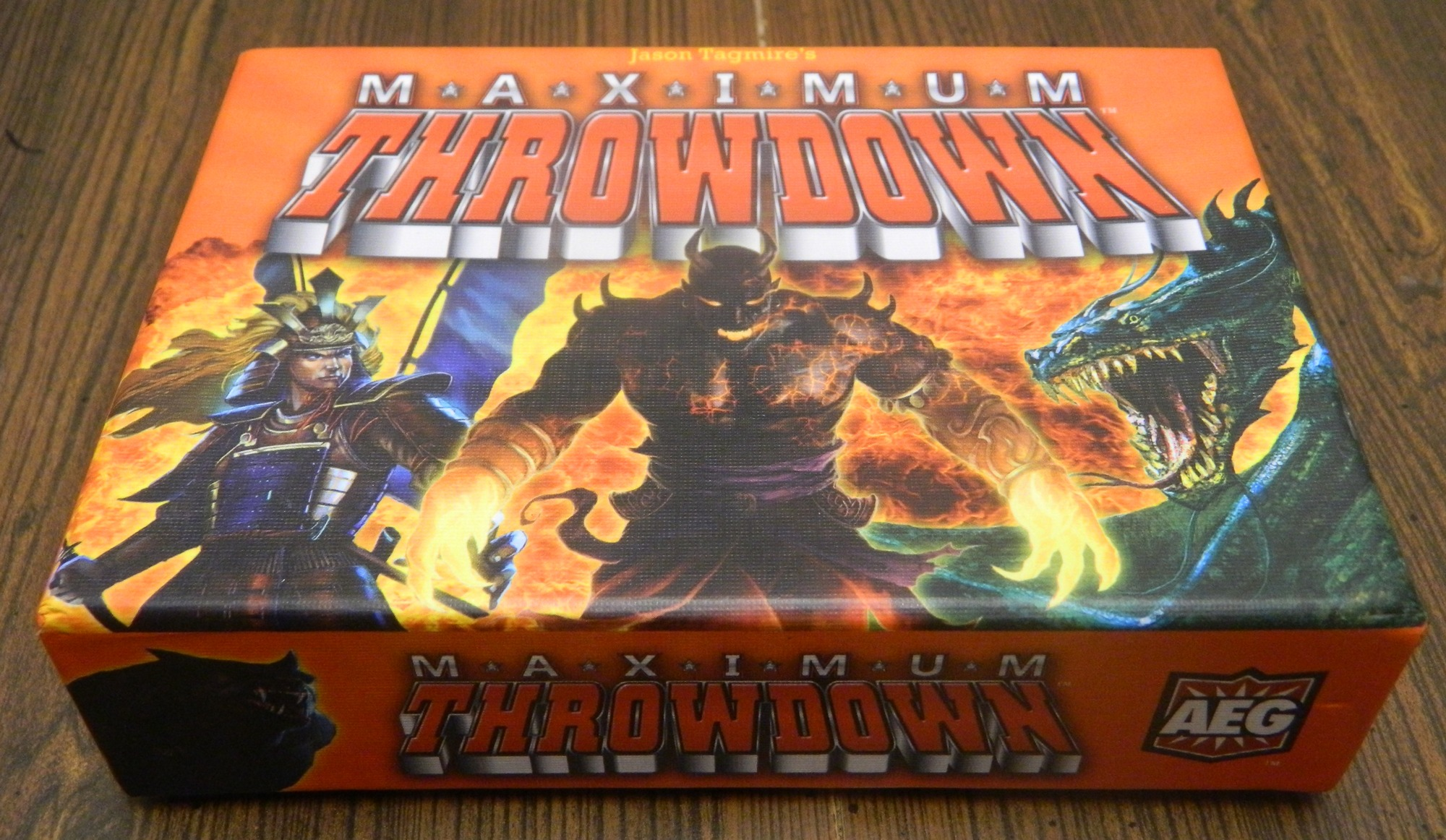 Maximum Throwdown Box