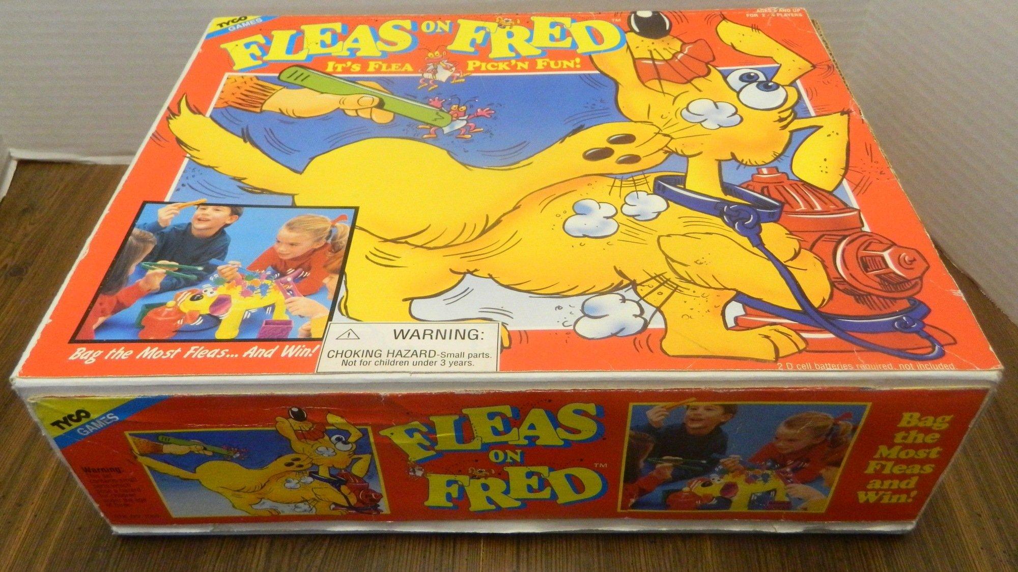 Fleas on Fred Box