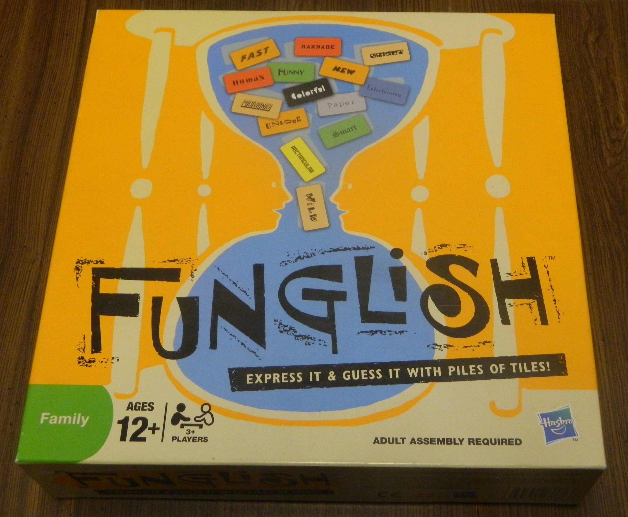 Funglish Board Game Box