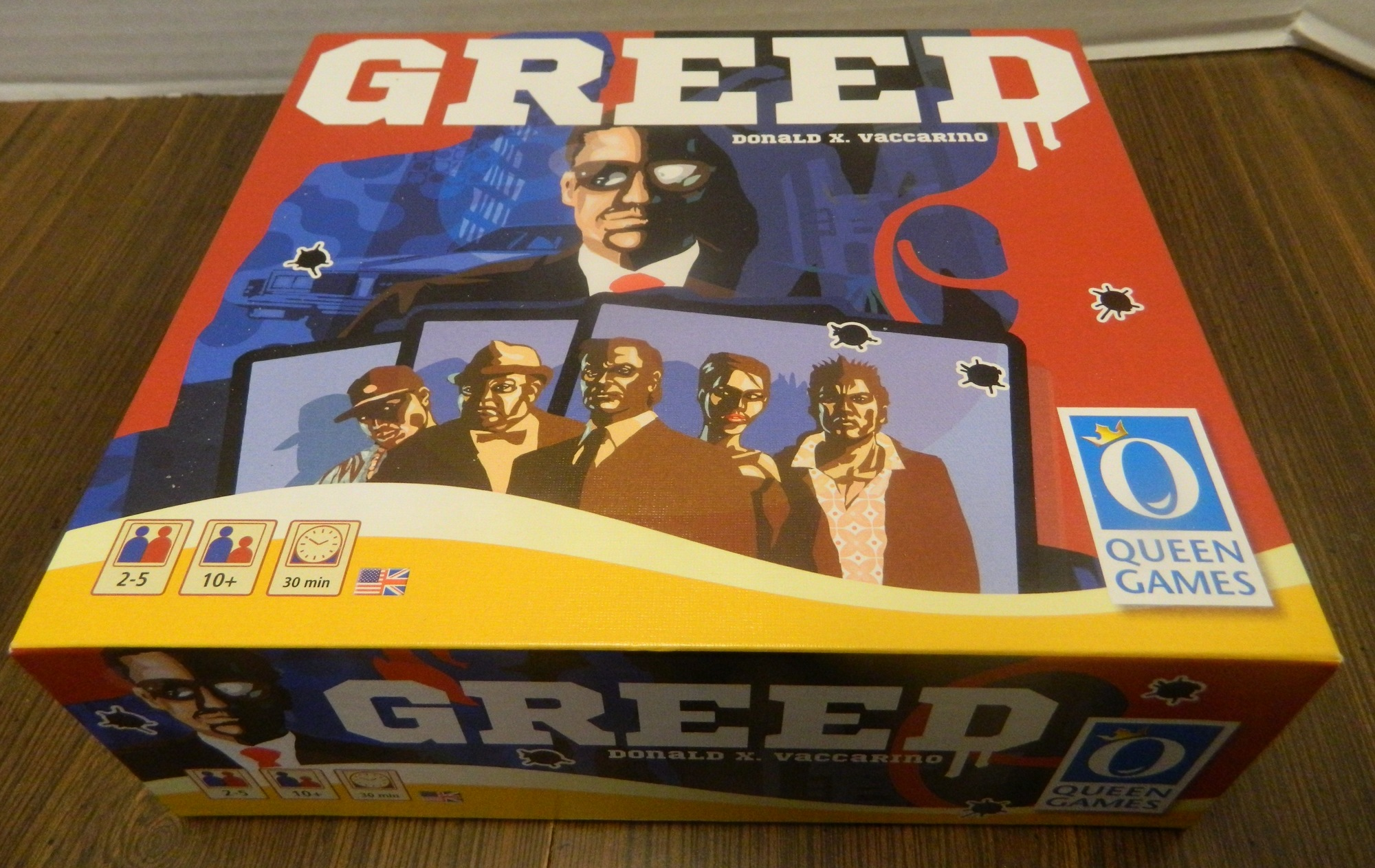 Greed Card Game Box