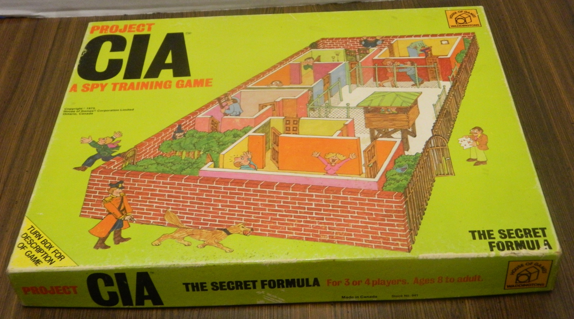 Project CIA Box