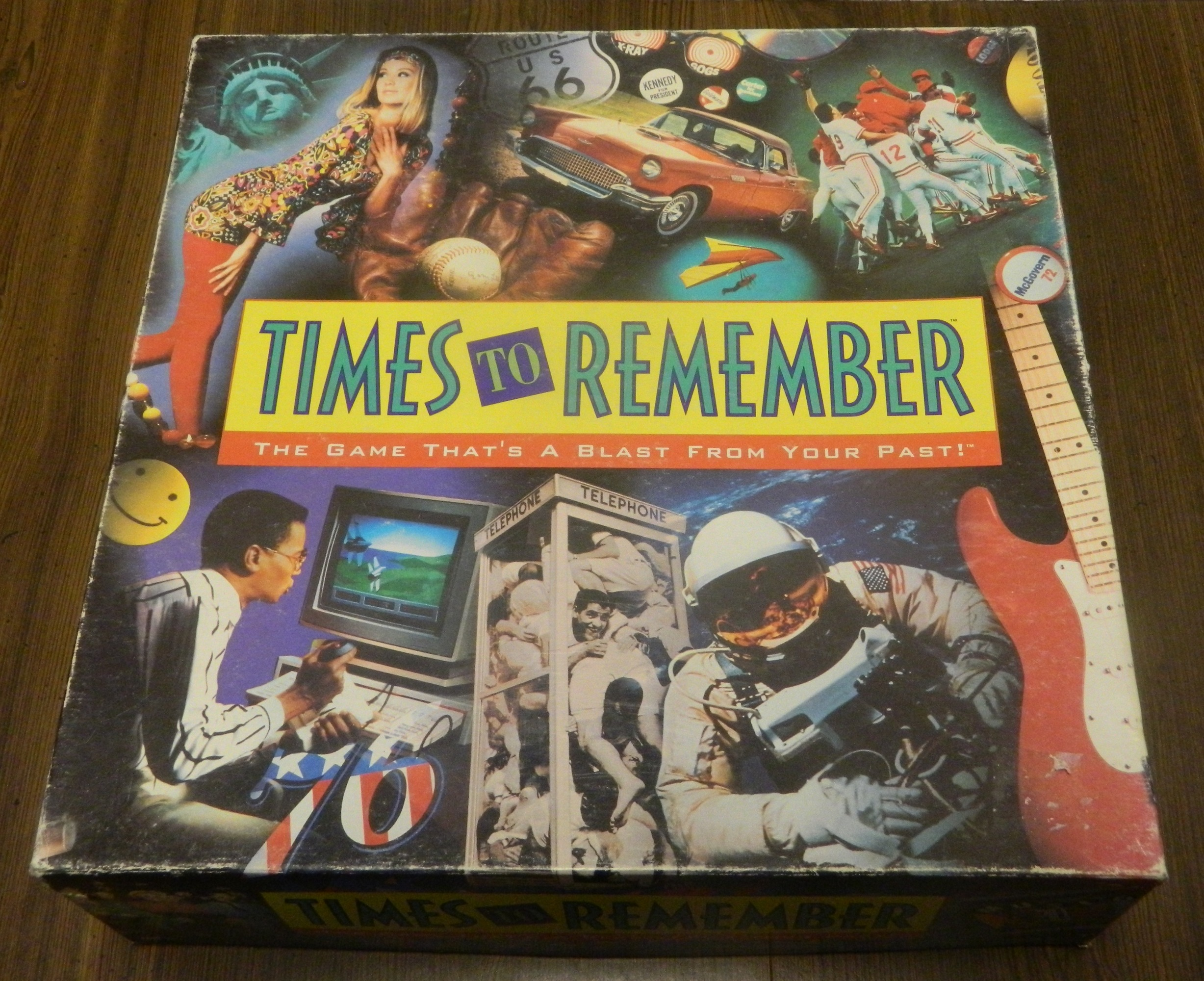 Times to Remember Board Game Box