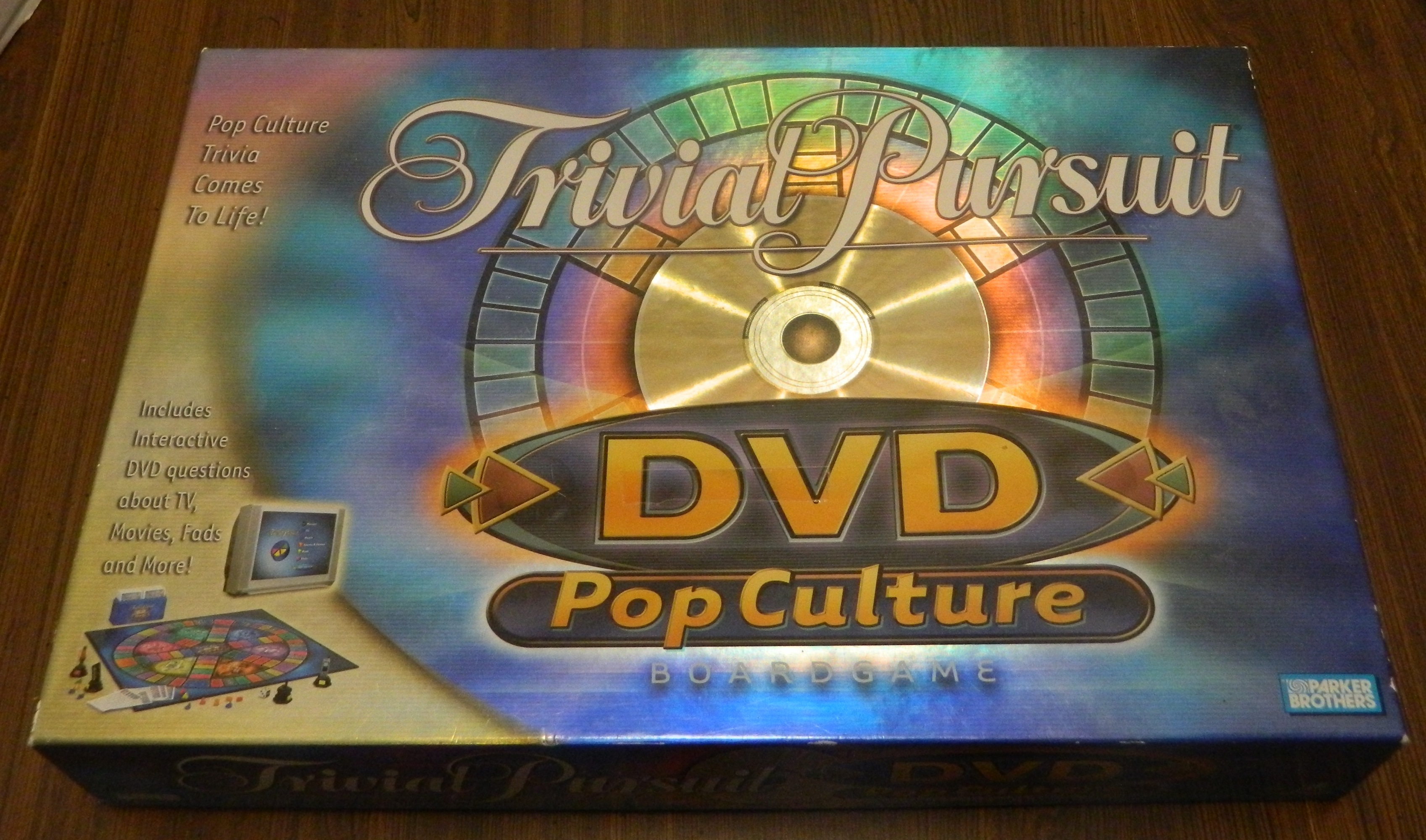 Trivial Pursuit DVD Pop Culture Box