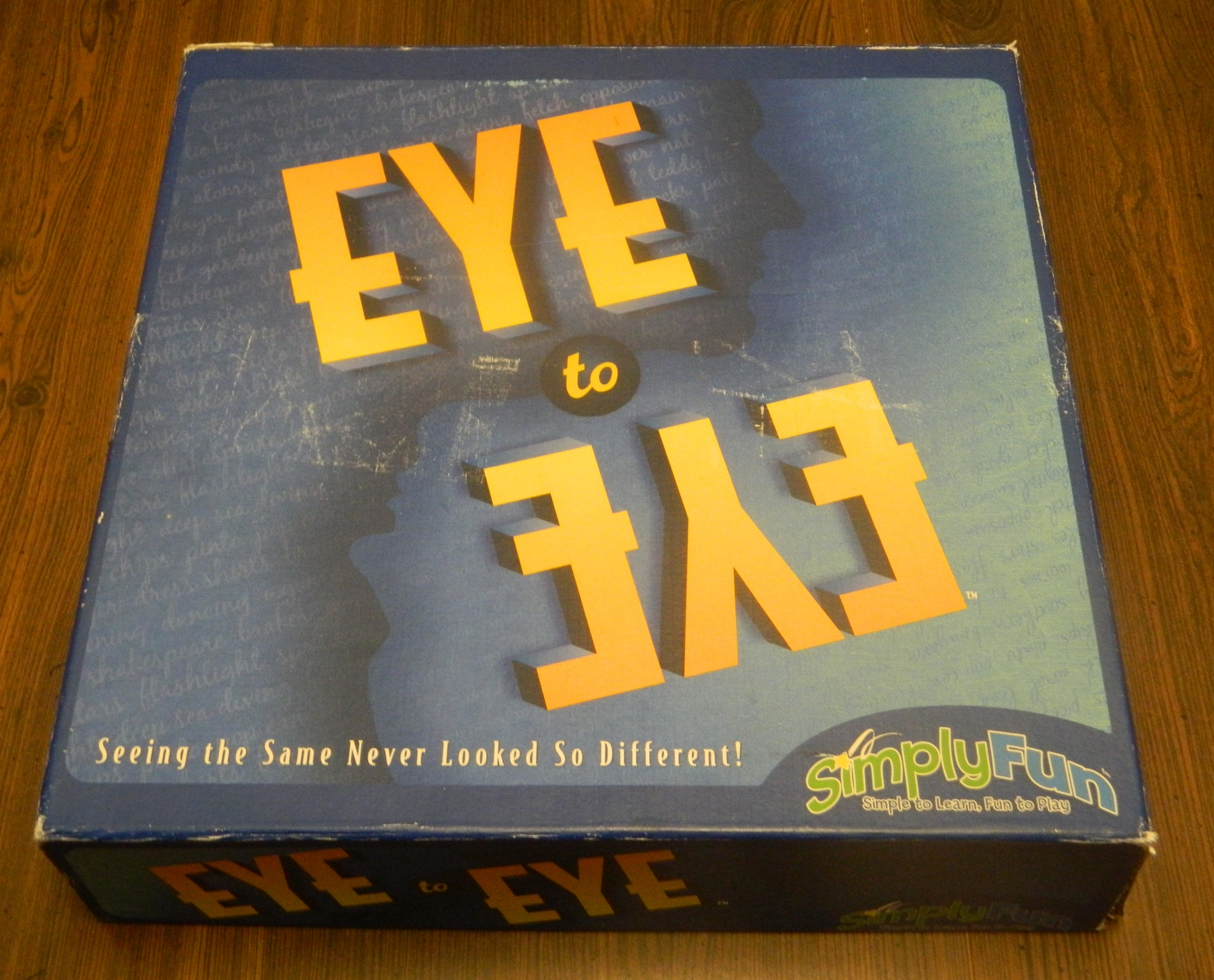 Eye to Eye Board Game Box
