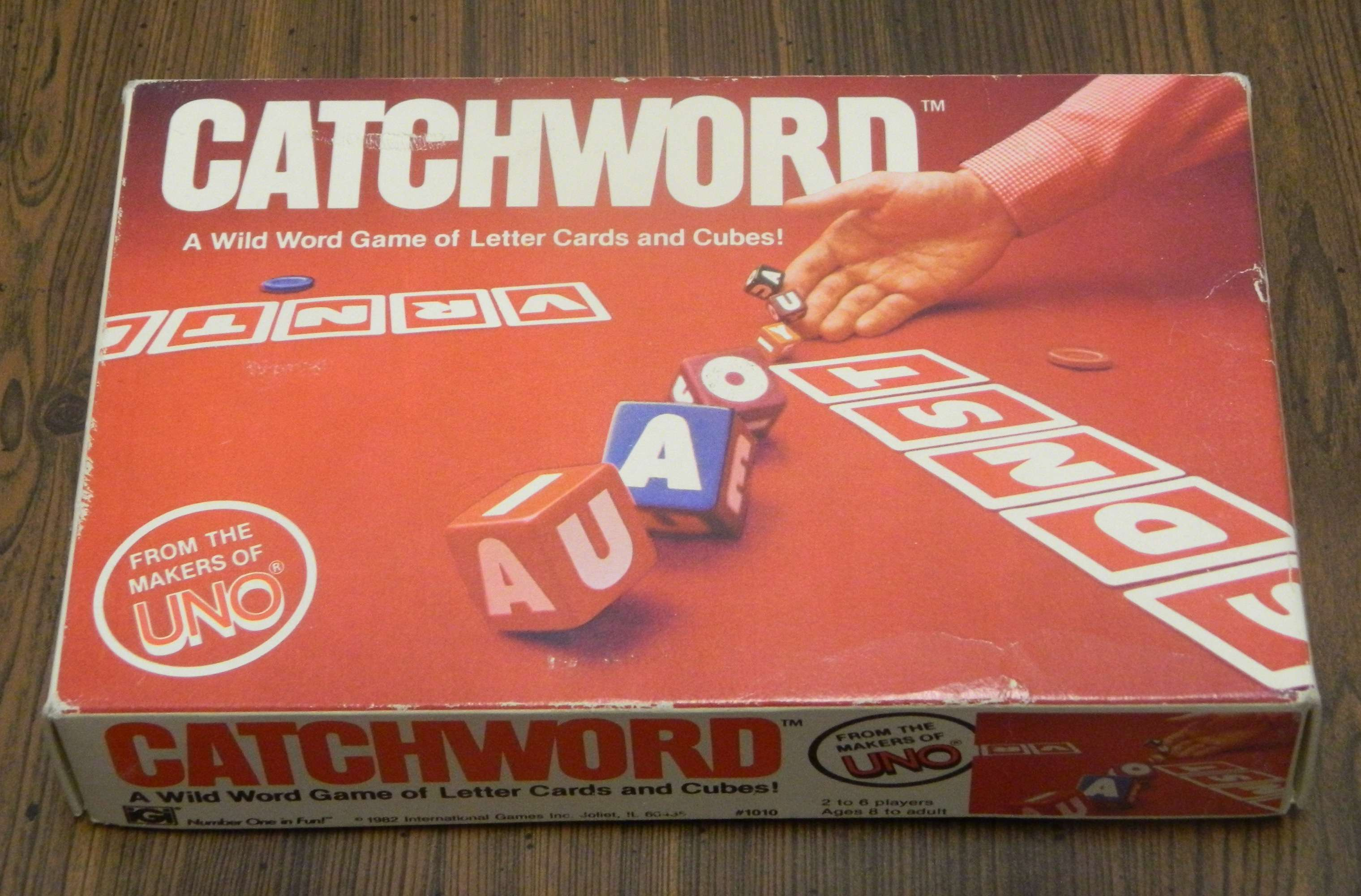 Catchword Card Game Box