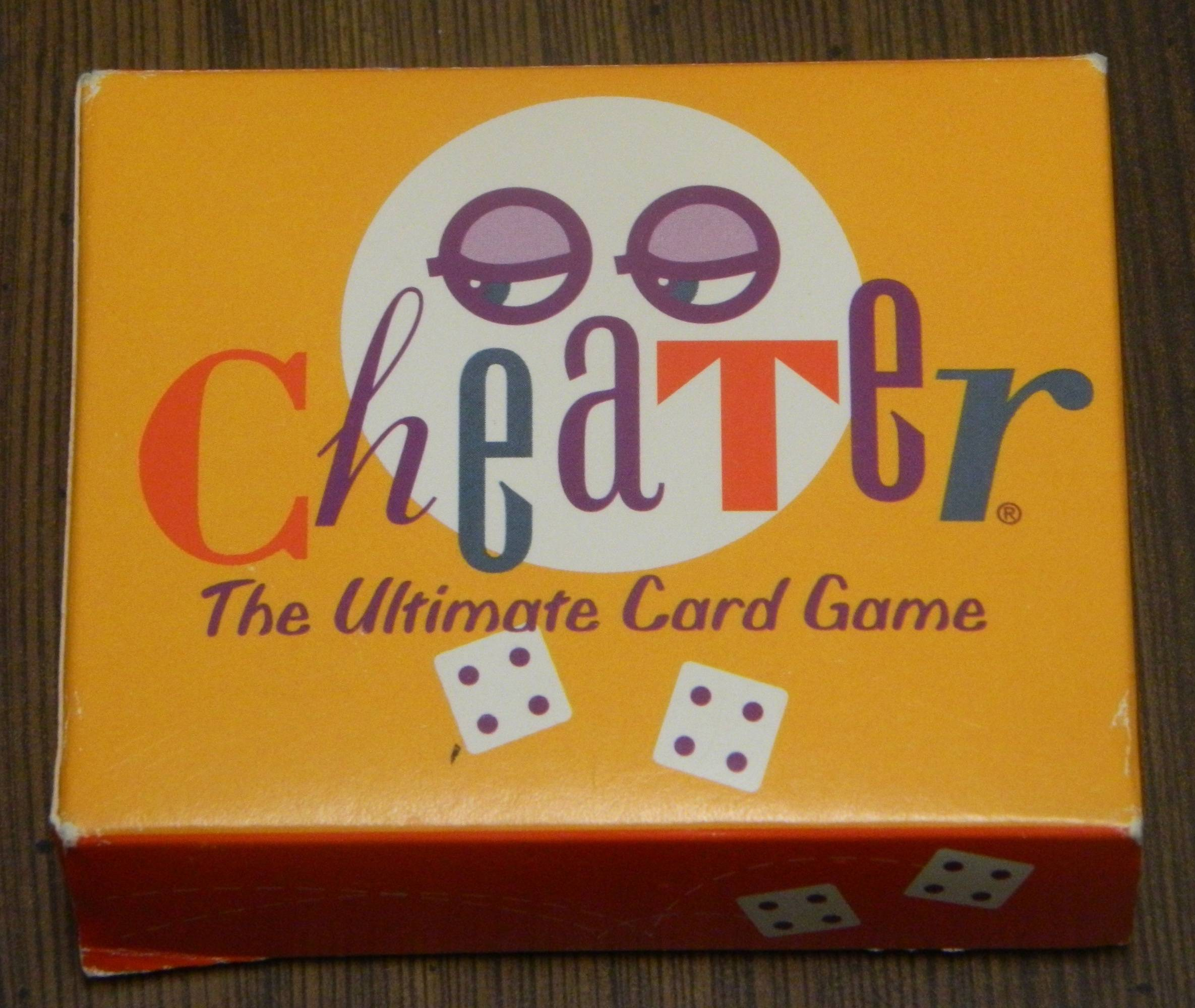 Cheater Card Game Box