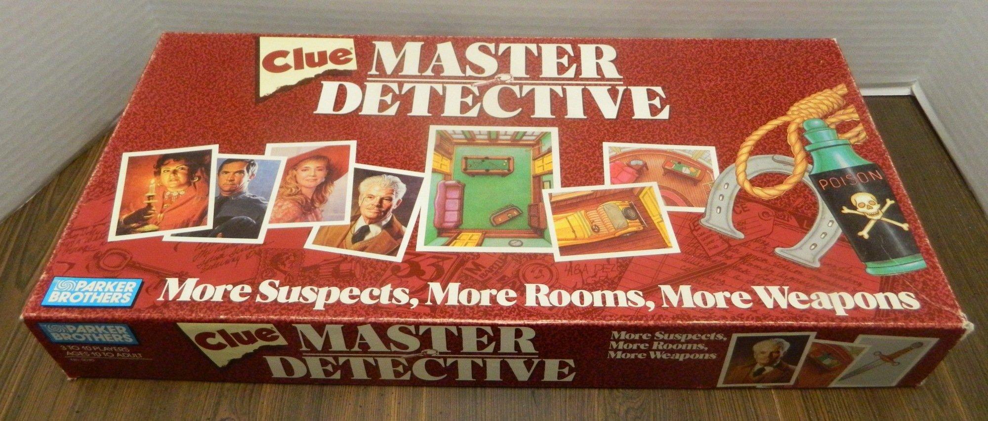 Clue Master Detective Box