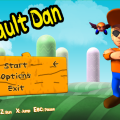 Default Dan Title Screen