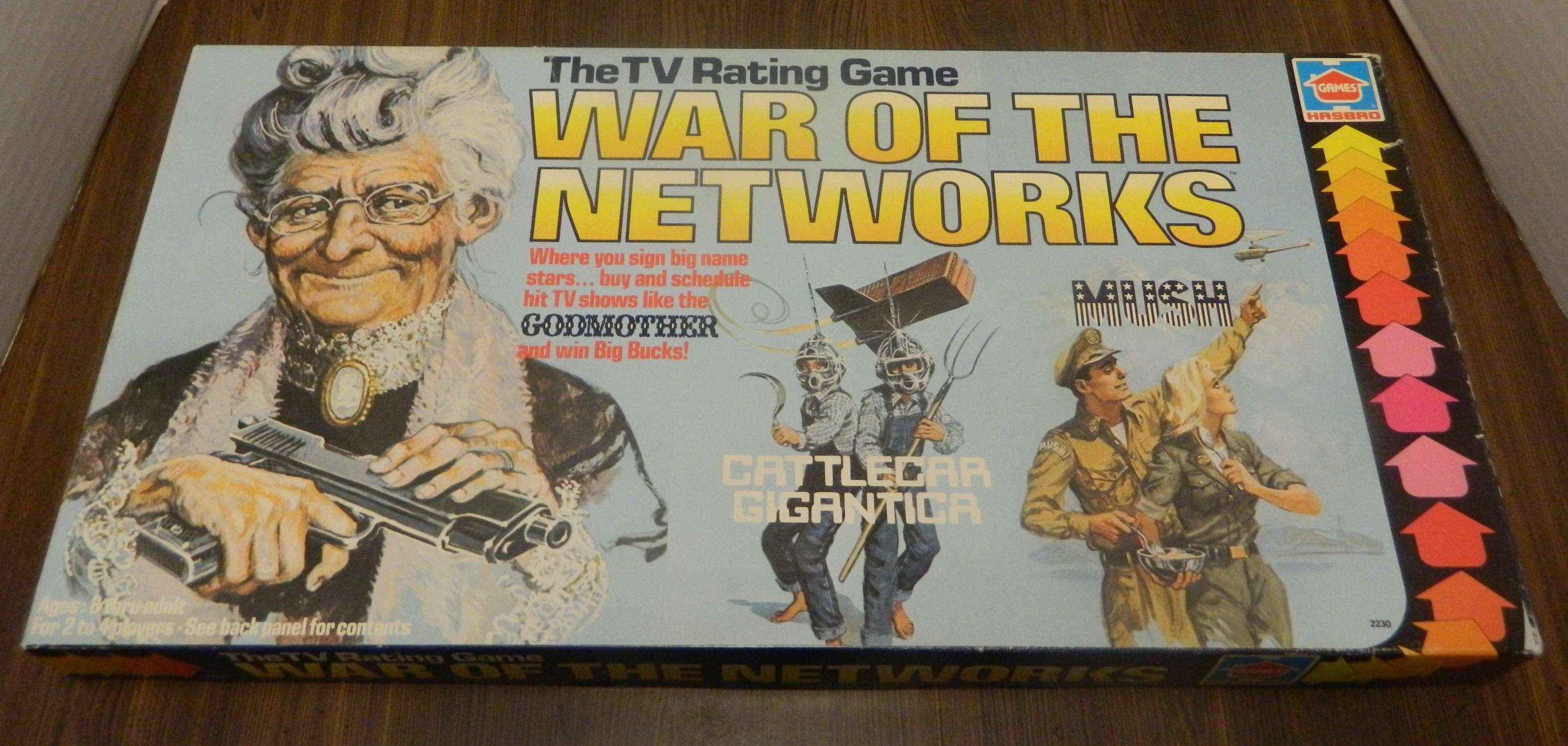 War of the Networks Board Game Box