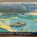A picture of the box for the game Bermuda Triangle