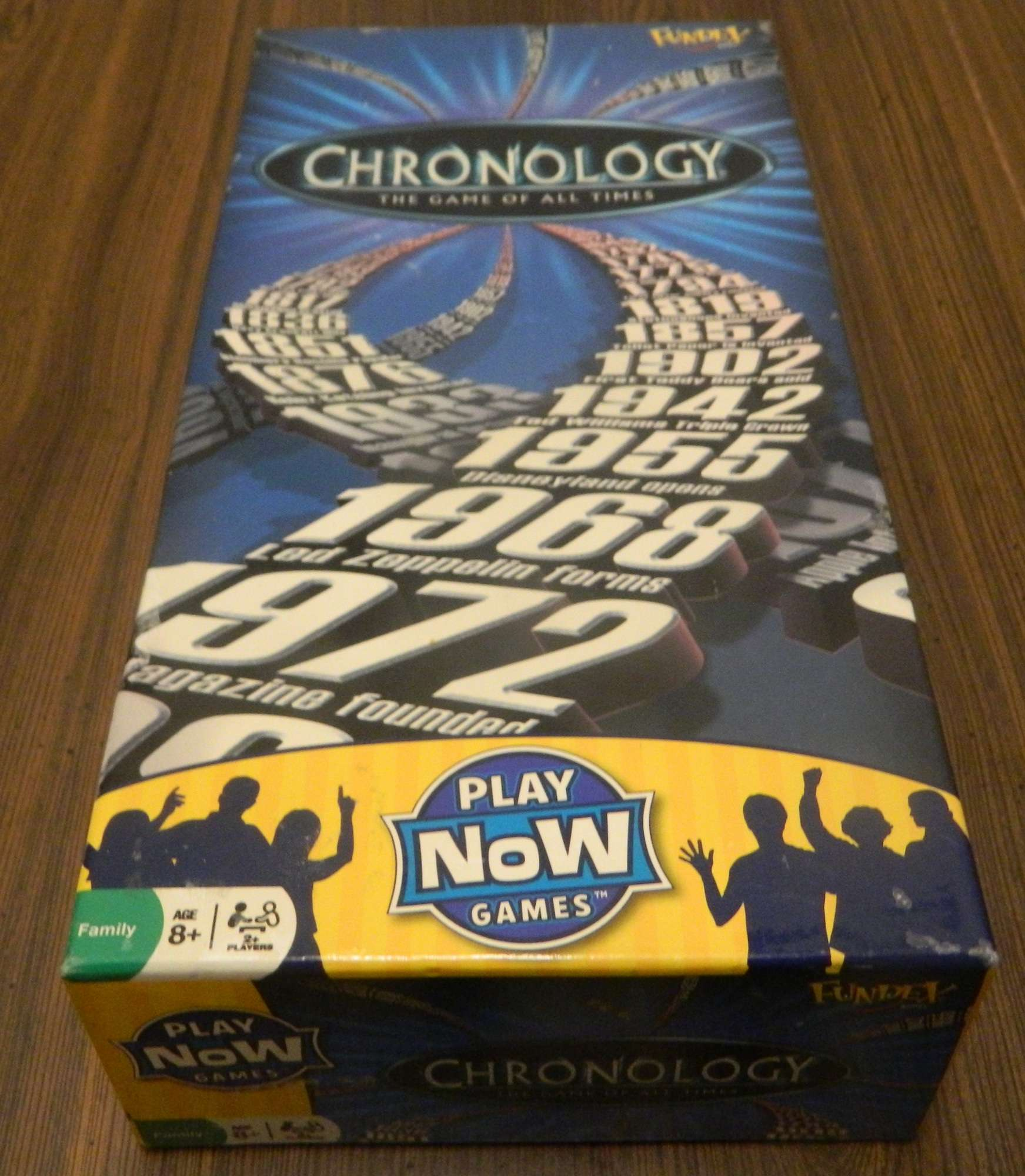 Picture of the box for Chronology