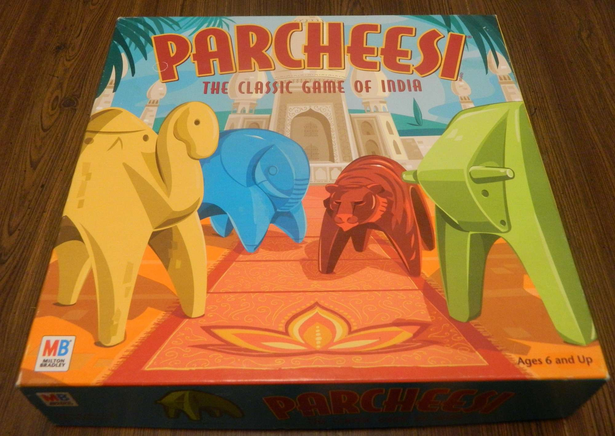 Box for Parcheesi