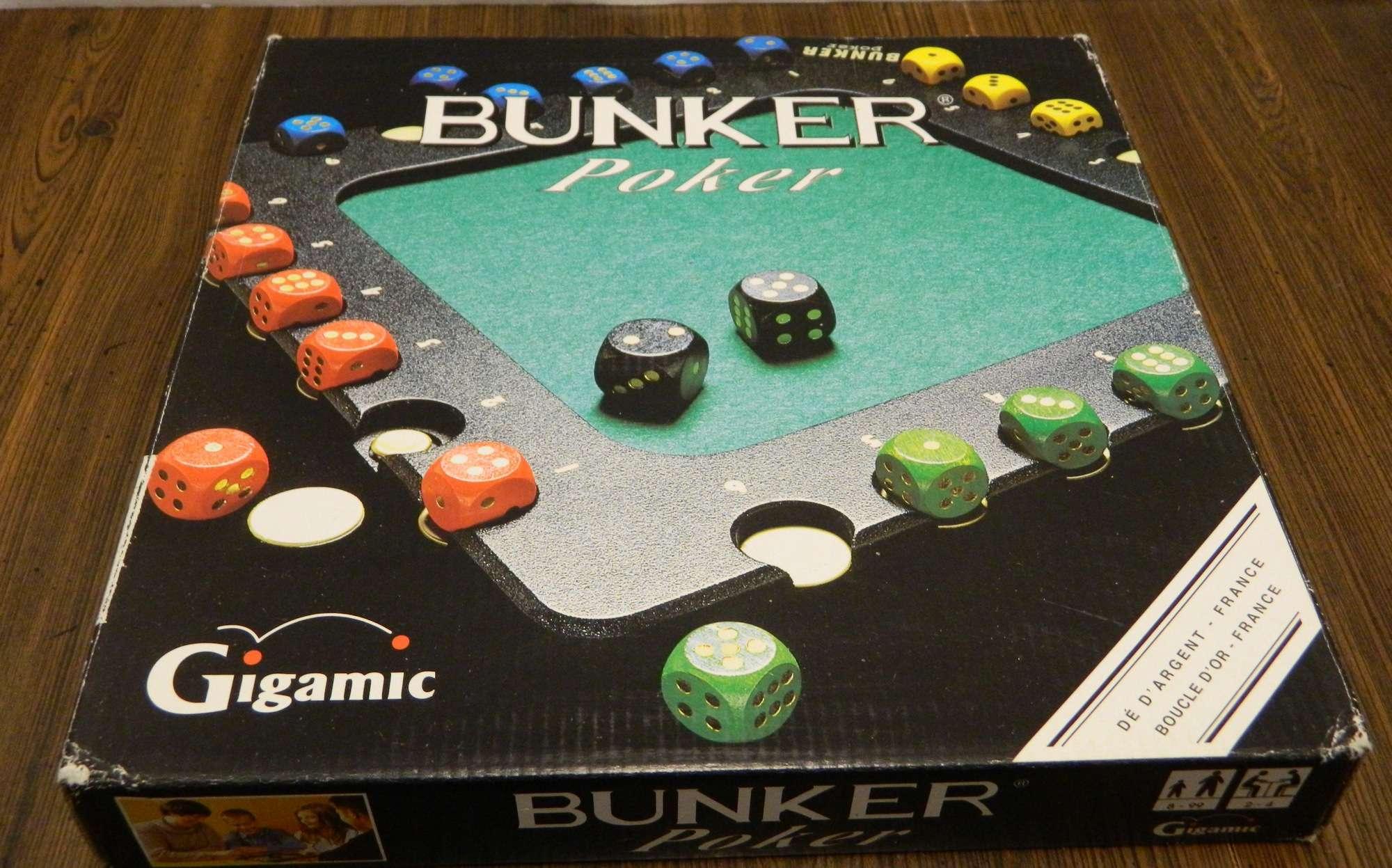 Bunker Poker Box