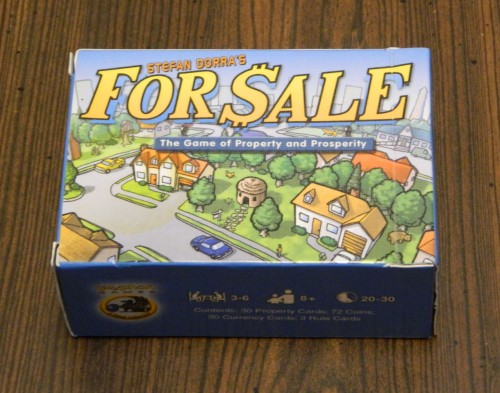 For Sale Card Game Review and Instructions | Geeky Hobbies image