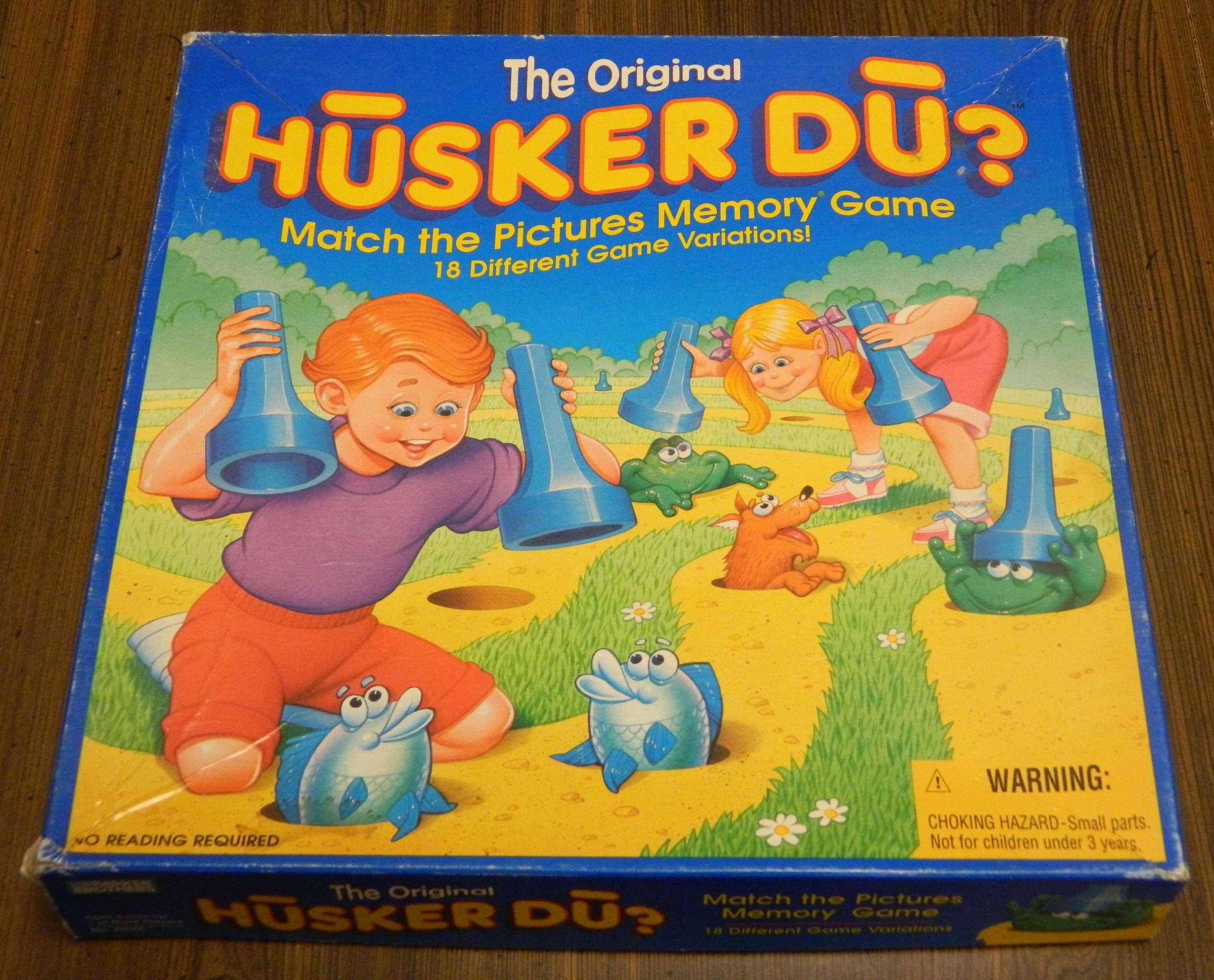 Husker Du Board Game Box