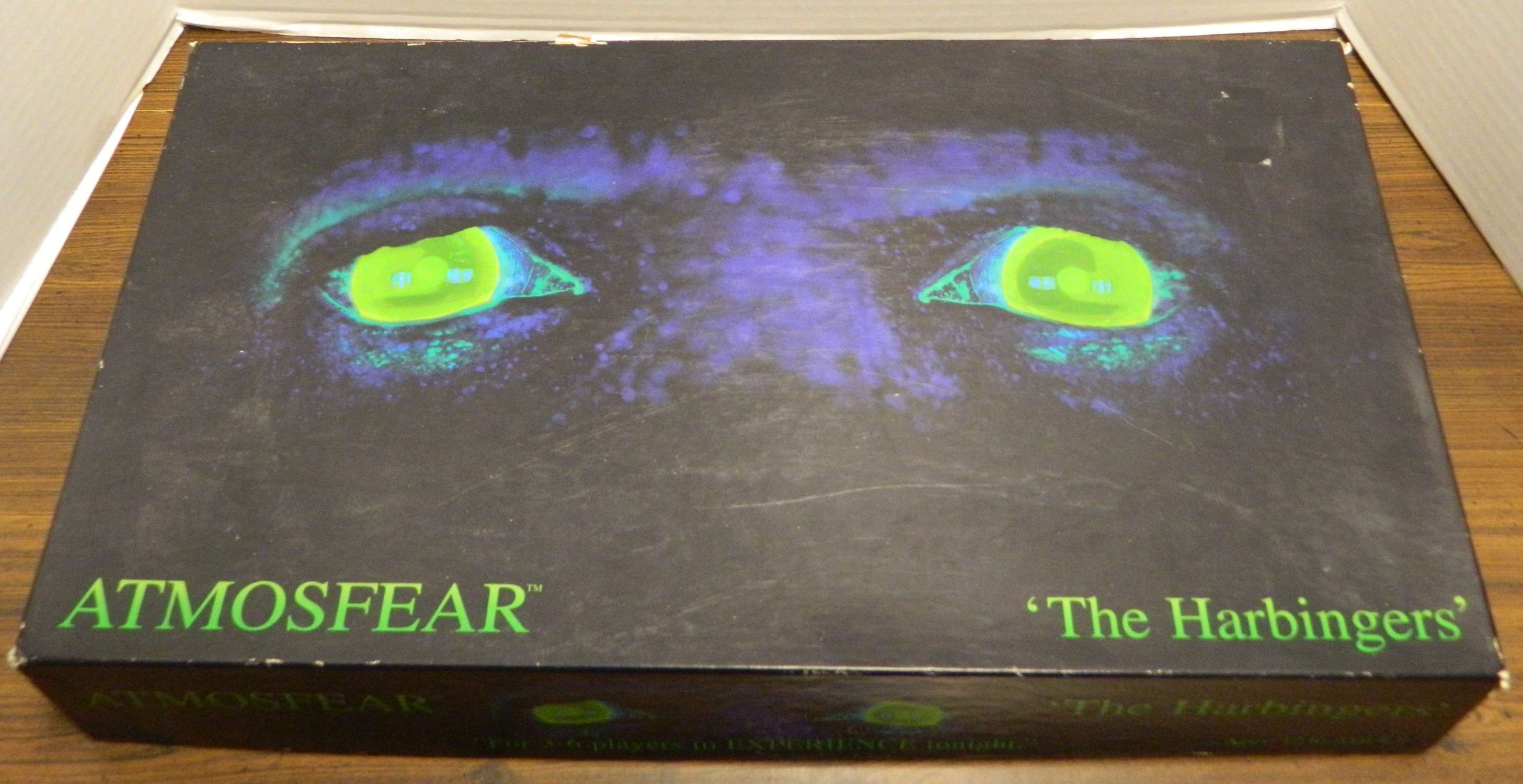 Atmosfear The Harbingers Board Game Box