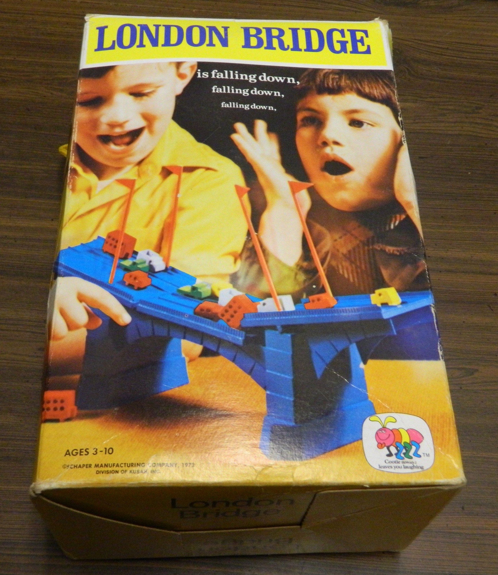 Box for the London Bridge Game