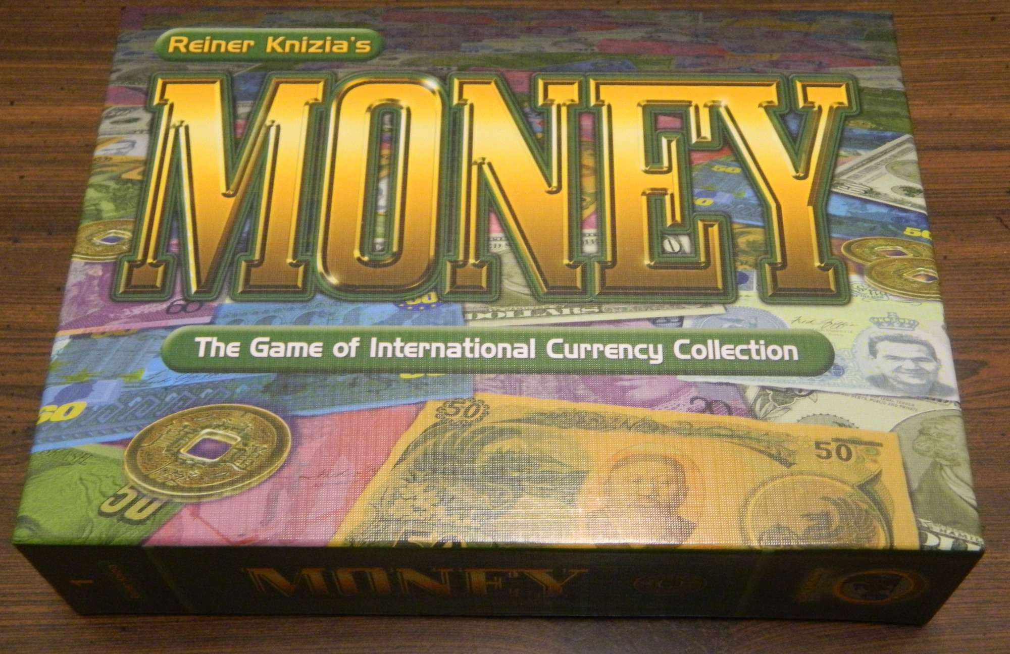 Box of Reiner Knizia's Money