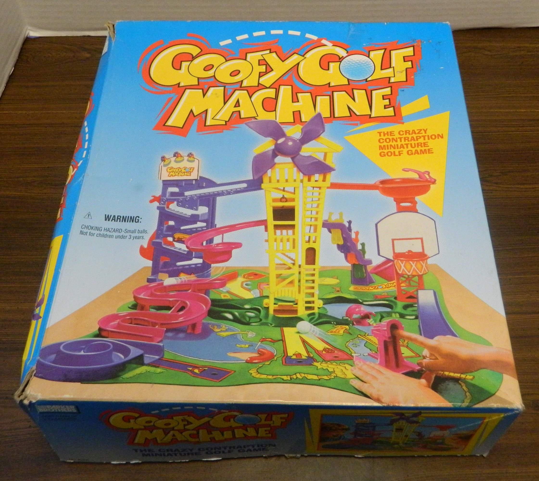 Goofy Golf Machine Board Game Review and Rules | Geeky Hobbies