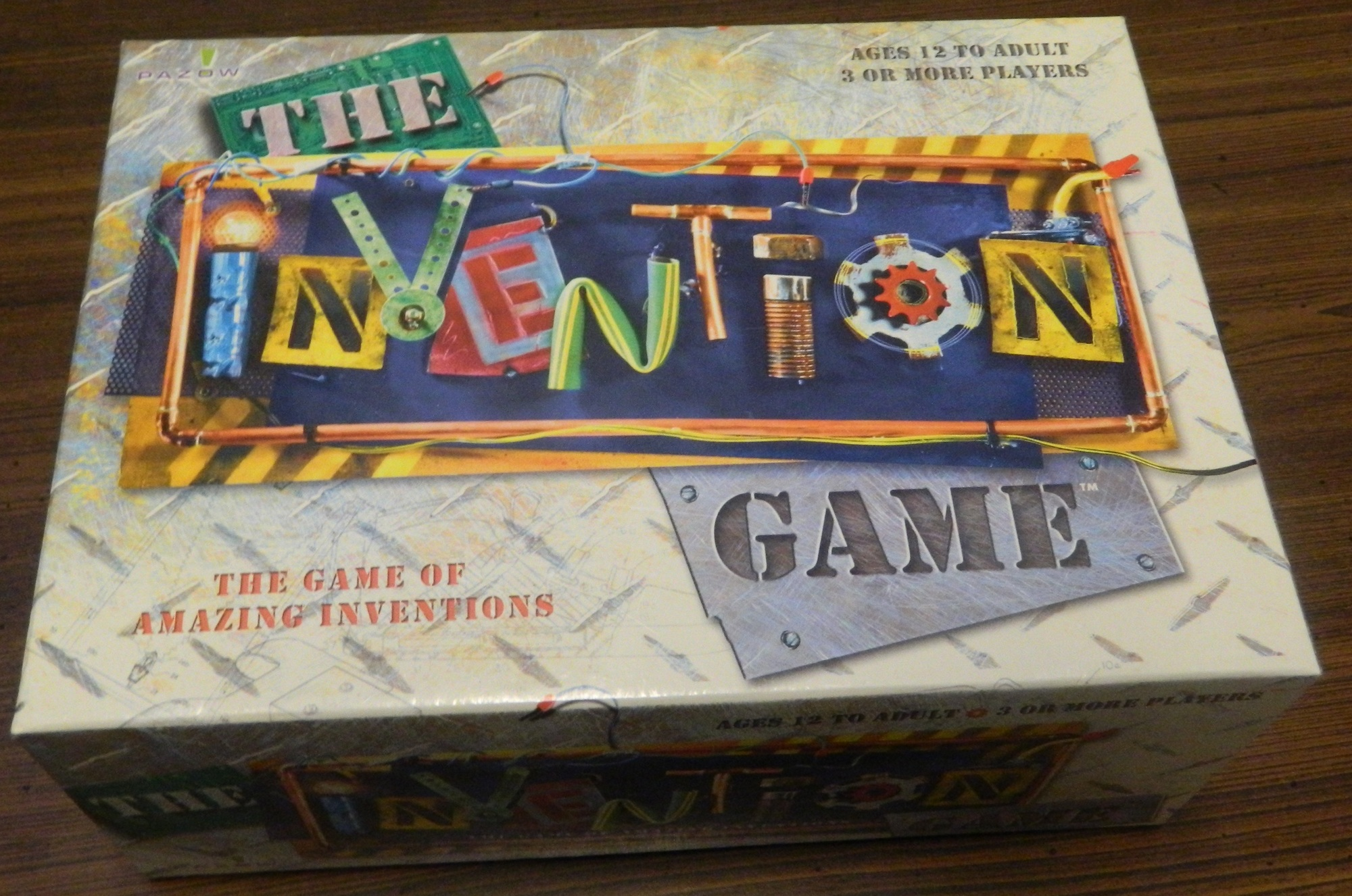 Box for The Invention Game
