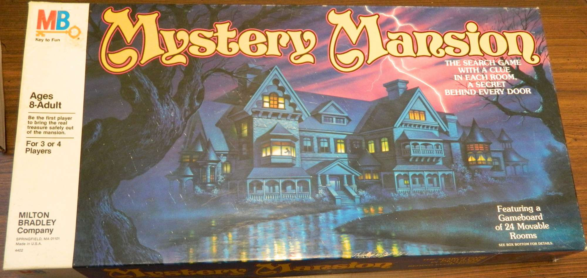 Box for Mystery Mansion