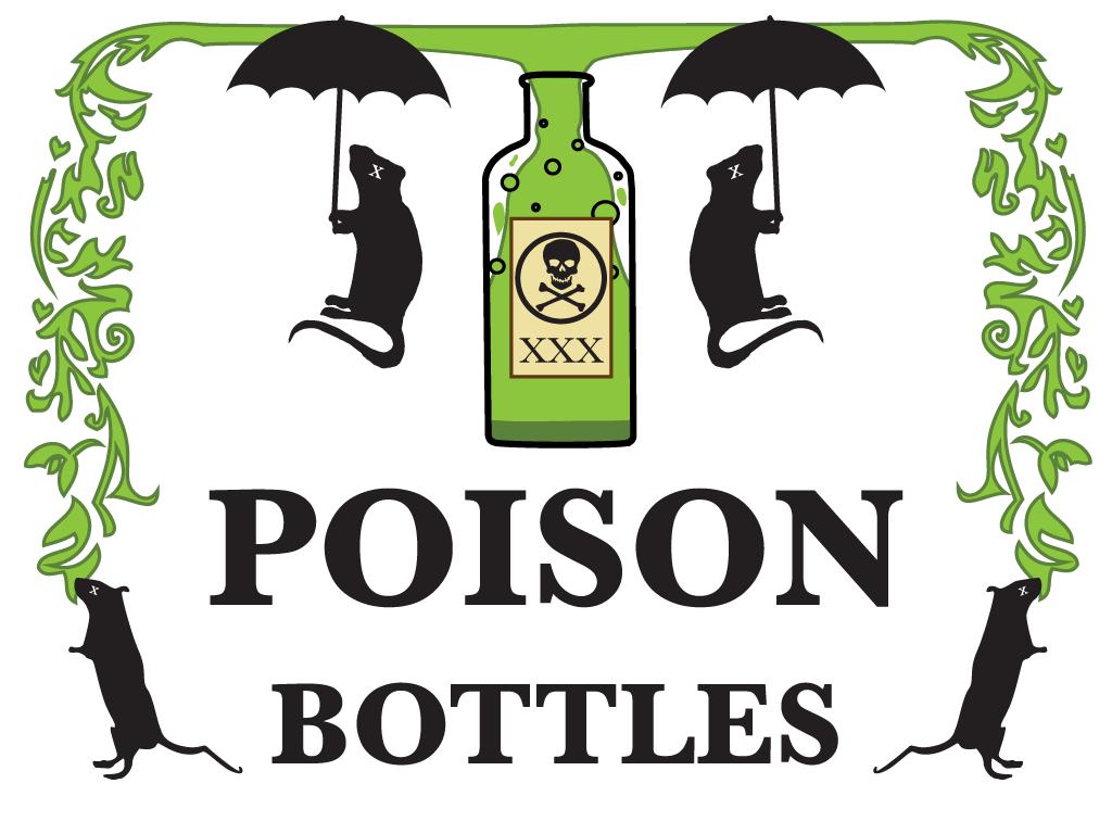 Poison Bottles Logo