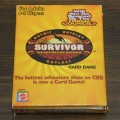 Survivor Australian Outback Card Game Box