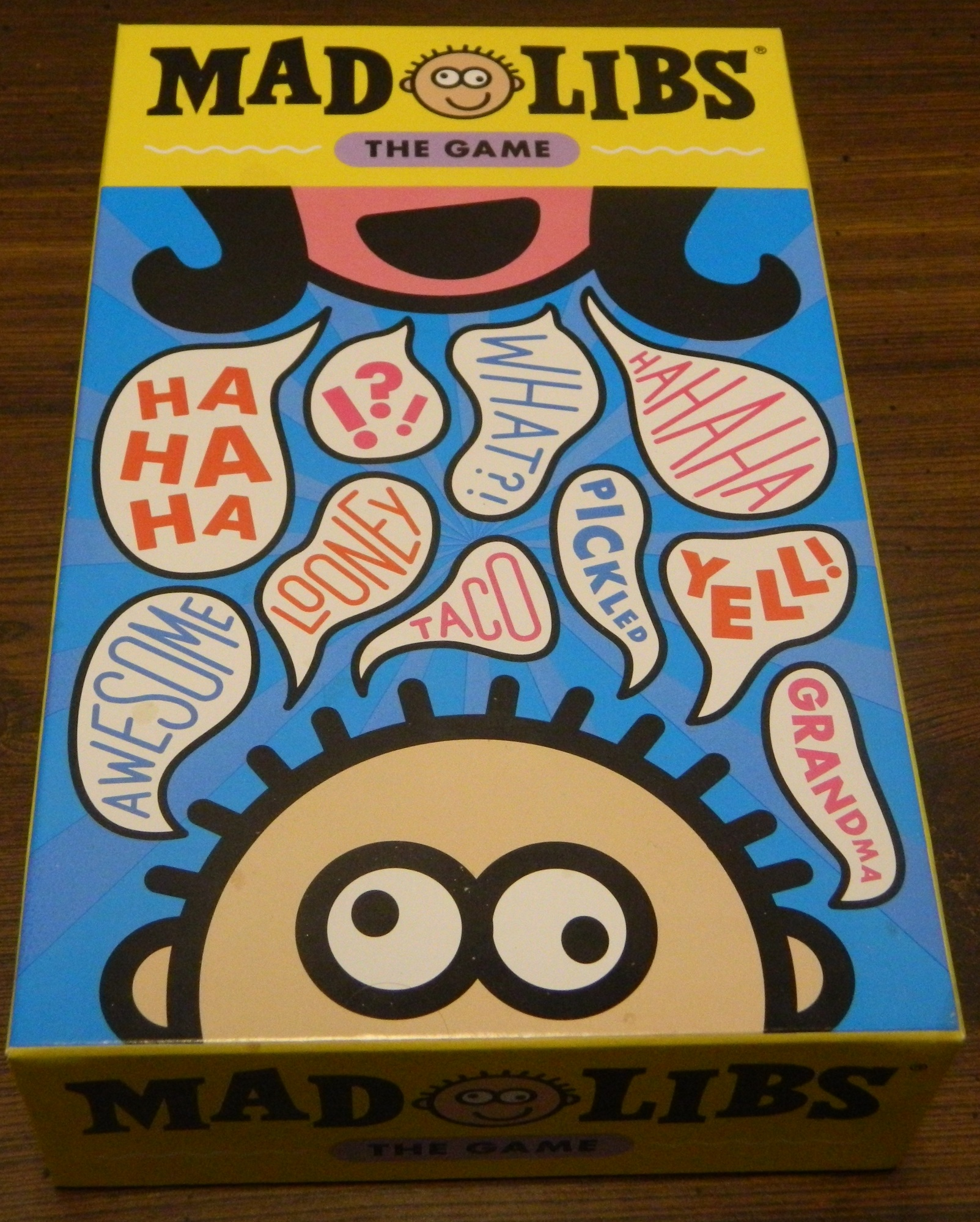 Box for Mad Libs The Game