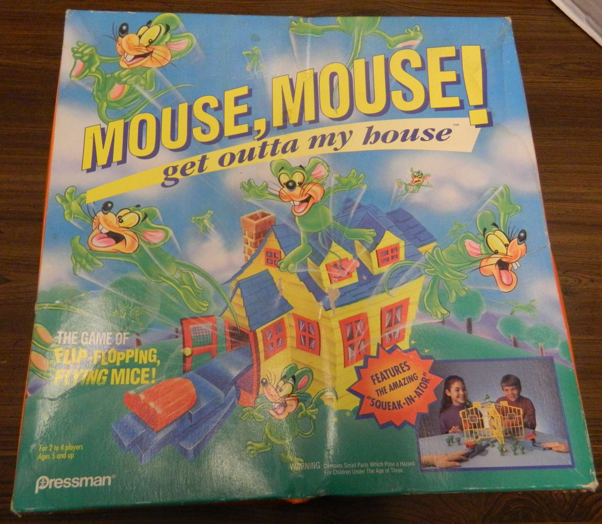 Box for Mouse Mouse Get Outta My House