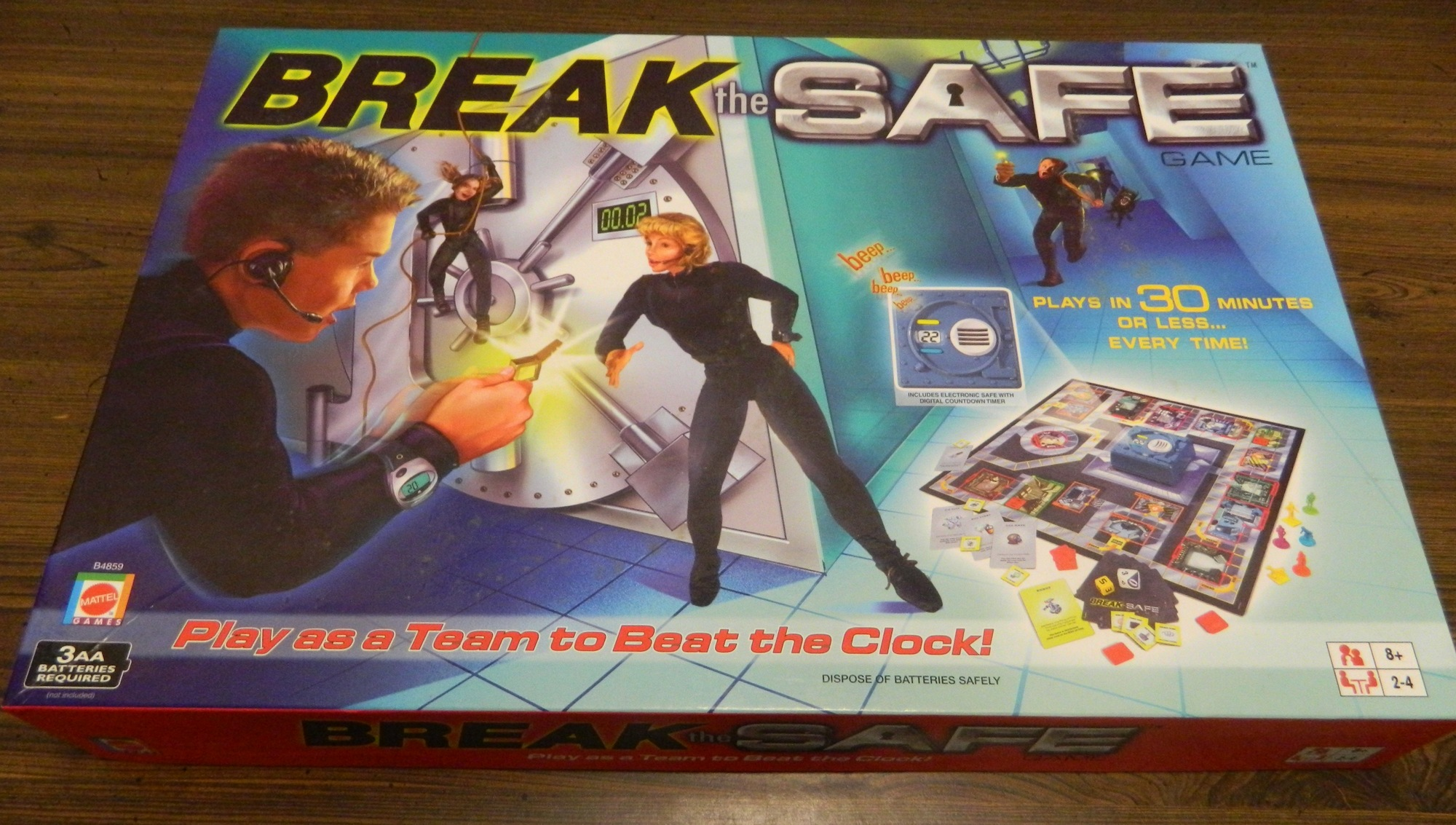 Break the Safe Box