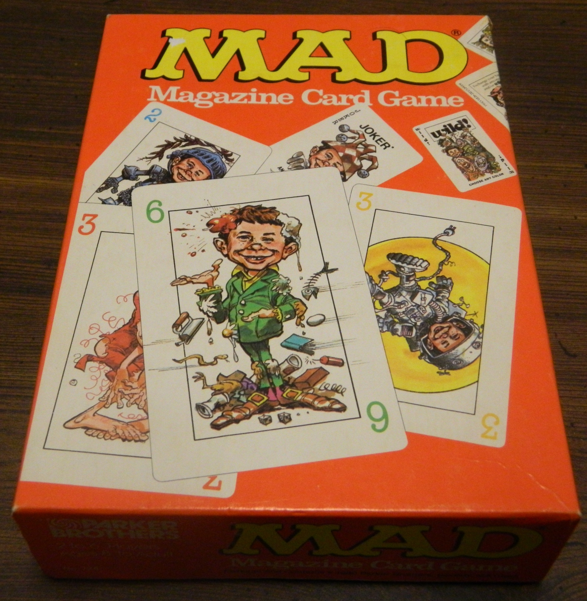 Mad Magazine Card Game Box
