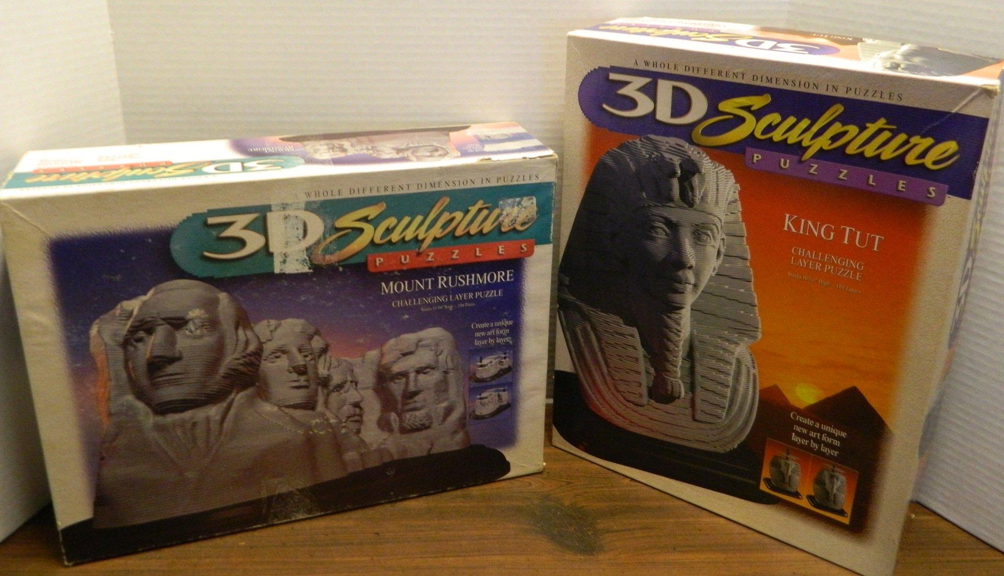 Sculpture Puzzle Boxes